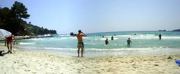 GOLDEN BEACH PANORAMA 1. THASSOS