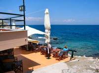 THASSOS TOWN CAFE VIEW