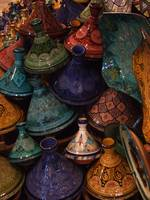 Marrakech, tagines