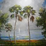 """Misty Tropical Lake"" by mazz"