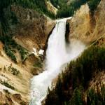 """Upper Yellowstone Falls ~ Oil Painting Effect"" by 1blessedmom"