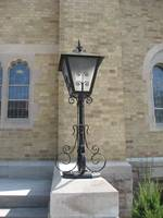 Church Light Post