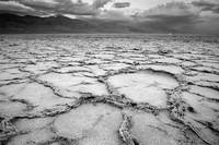 Badwater - Death Valley Desert Landscape