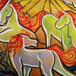 """Horses of Glass"" by ArtPrints"