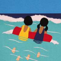 Girls on a Raft Art Prints & Posters by Rosemary McGuirk
