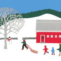 The Ski Hill Art Prints & Posters by Rosemary McGuirk