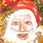 """""""Vintage Santa"""" by CASB"""