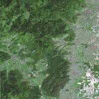 Vosges Mountains (France) : Satellite Image