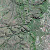 Drakensberg (South Africa) : Satellite Image