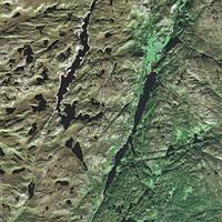 Vest-Agder (Norway) : Satellite Image