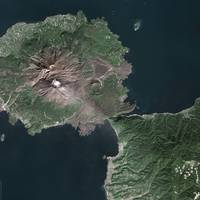 Sakurajima (Japan) : Satellite Image