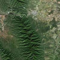 Sierra madre (Mexico) : Satellite image