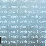 """""""I Verb You"""" by Curiology"""