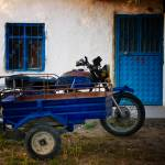 """Blue Sidecar With Door And Window"" by joshuaphotography"