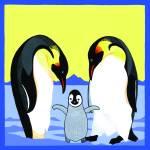 """""""Penguins - Parents & Chick"""" by DezineZone"""