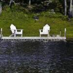 """two-chairs-moose-river-10x12"" by sacorivergraphics"