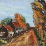 """Cotswold Lane in Autumn"" by KFCollection"