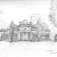 Monticello Art Prints & Posters by Rosemary McGuirk