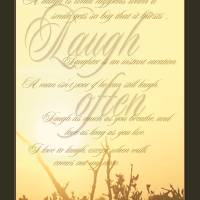 Laugh Often Art Prints & Posters by Sherry Wargo