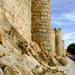 """City Walls in Ávila, Spain"" by mtrommer"