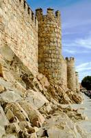 City Walls in Ávila, Spain