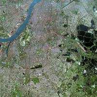Kolkata (India) : Satellite Image