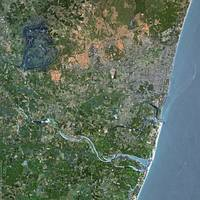 Puducherry (India) : Satellite Image