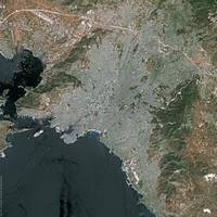 Athens (Greece) : Satellite Image