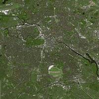 Berlin (Germany) : Satellite Image
