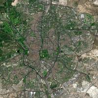 Madrid (Spain) : Satellite Image