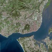 Lisbon (Portugal) : Satellite Image