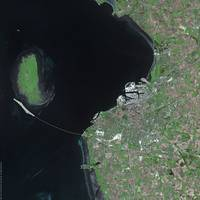 Malmo (Sweden) : Satellite Image