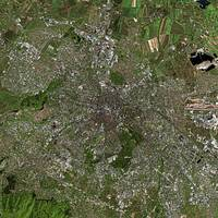 Sofia (Bulgaria) : Satellite Image
