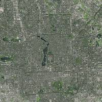 Beijing (China) : Satellite Image