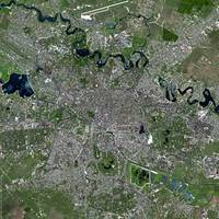 Bucharest (Romania) : Satellite Image