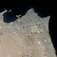 Kuwait City (Kuwait) : Satellite Image