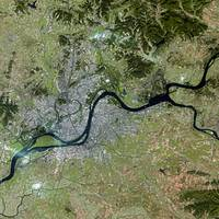 Pyongyang (North Korea) : Satellite Image