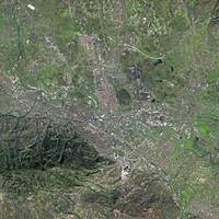 Skopje (Macedonia) : Satellite Image