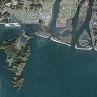Busan (South Korea) : Satellite Image