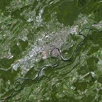 Besancon (France) : Satellite Image