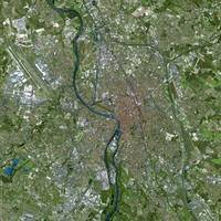 Toulouse (France) : Satellite Image