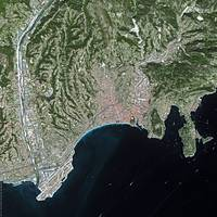 Nice (France) : Satellite Image