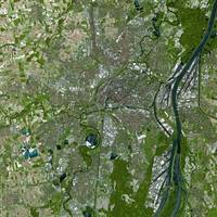Strasbourg (France) : Satellite Image