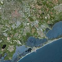 Montpellier (France) : Satellite Image