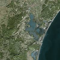 Narbonne (France) : Satellite Image