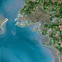 La Rochelle (France) : Satellite Image
