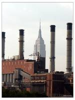 EMPIRE STATE BUILDING SMOKESTACKS