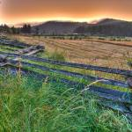"""Sunset over Hardscrabble Farm"" by tobysnelgrove"