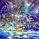 """Ocean sparks"" by sergeantpepper"