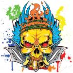 """Skull Gun"" by steveshead"